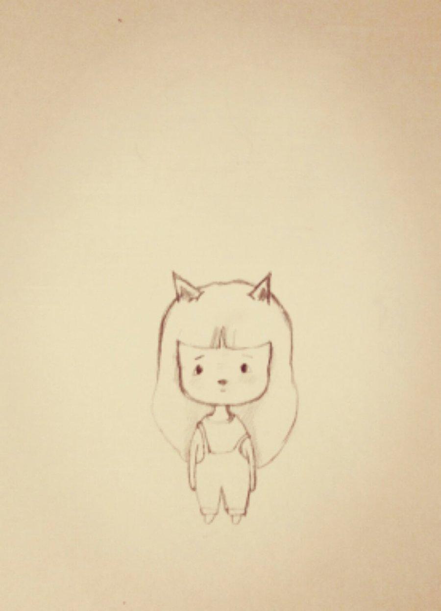 猫小呆 漫画 插画 手绘 动漫 涂鸦