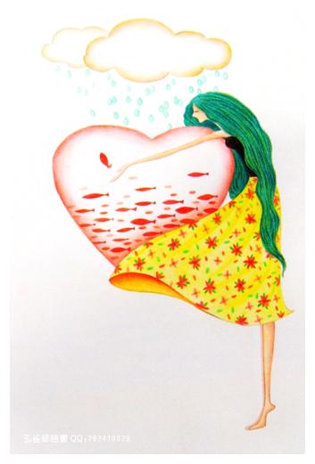 我的彩色铅笔画**纯手绘哦**