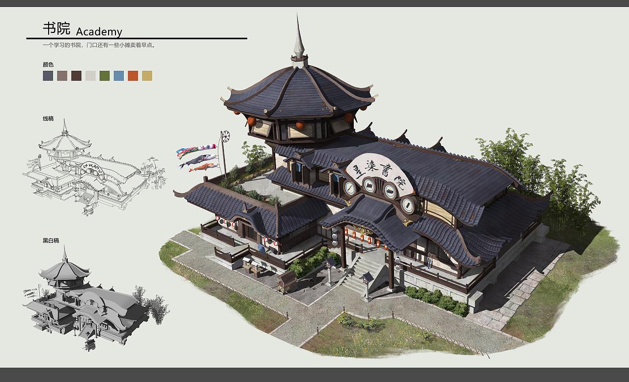 日本建筑设定