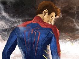 复联小蜘蛛的背影