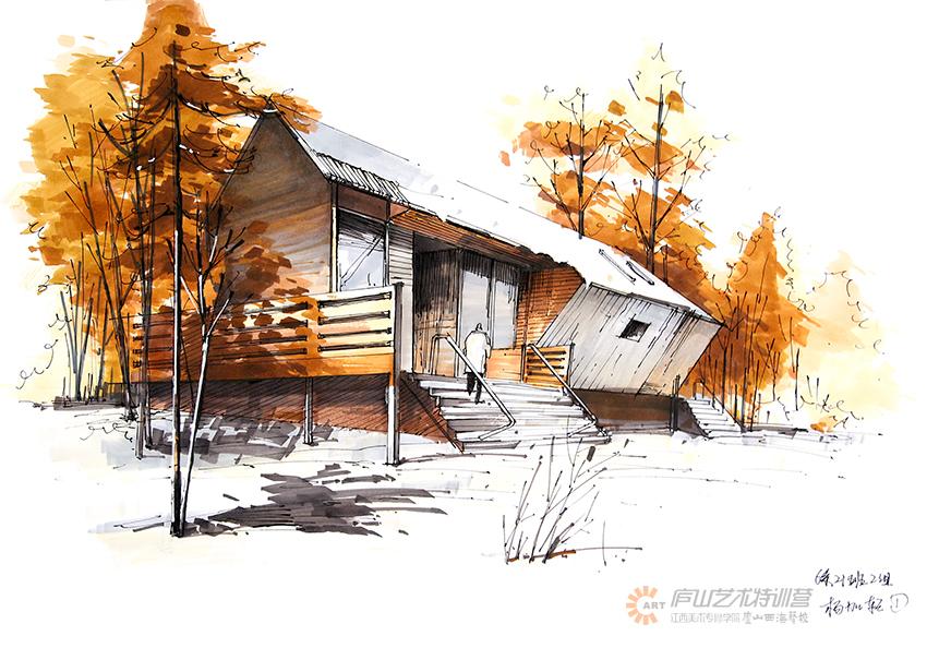 庐山特训营学生建筑作品 其他空间 空间/建筑 lushan