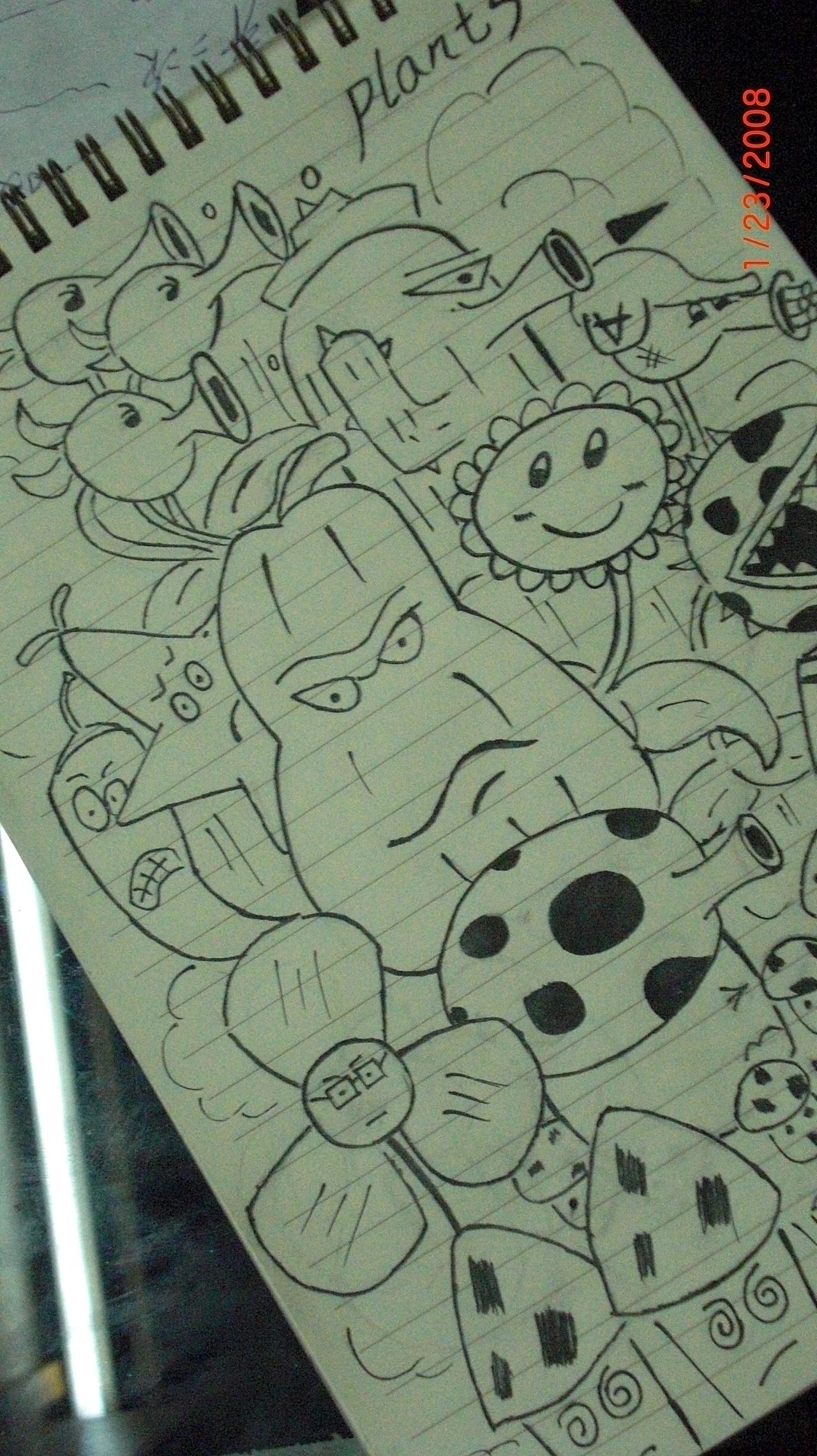 插画商业植物人|大战|插画僵尸|捣乱3-原创作品qq游戏qq超市游戏玩法图片
