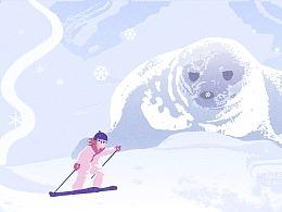 想滑雪 想潜水 想..