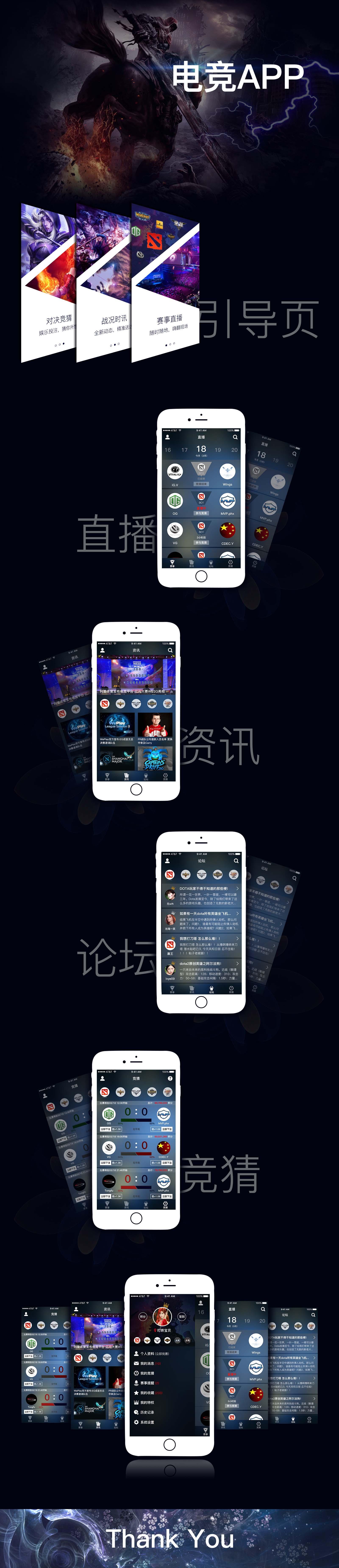 投入1亿元进军电子竞技的新闻,于是做一款电竞相关的app……哈哈