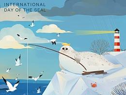 百度 国际海豹日