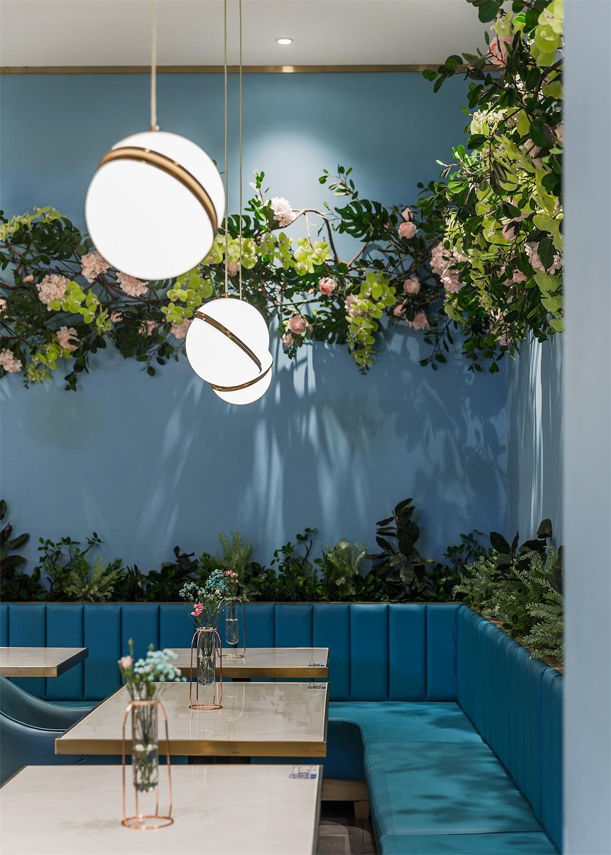 西餐厅 · 餐饮空间设计_花木莉 佛山店