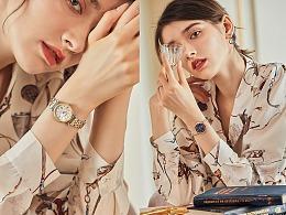 手表模特拍摄 女表拍摄 手表外模形象