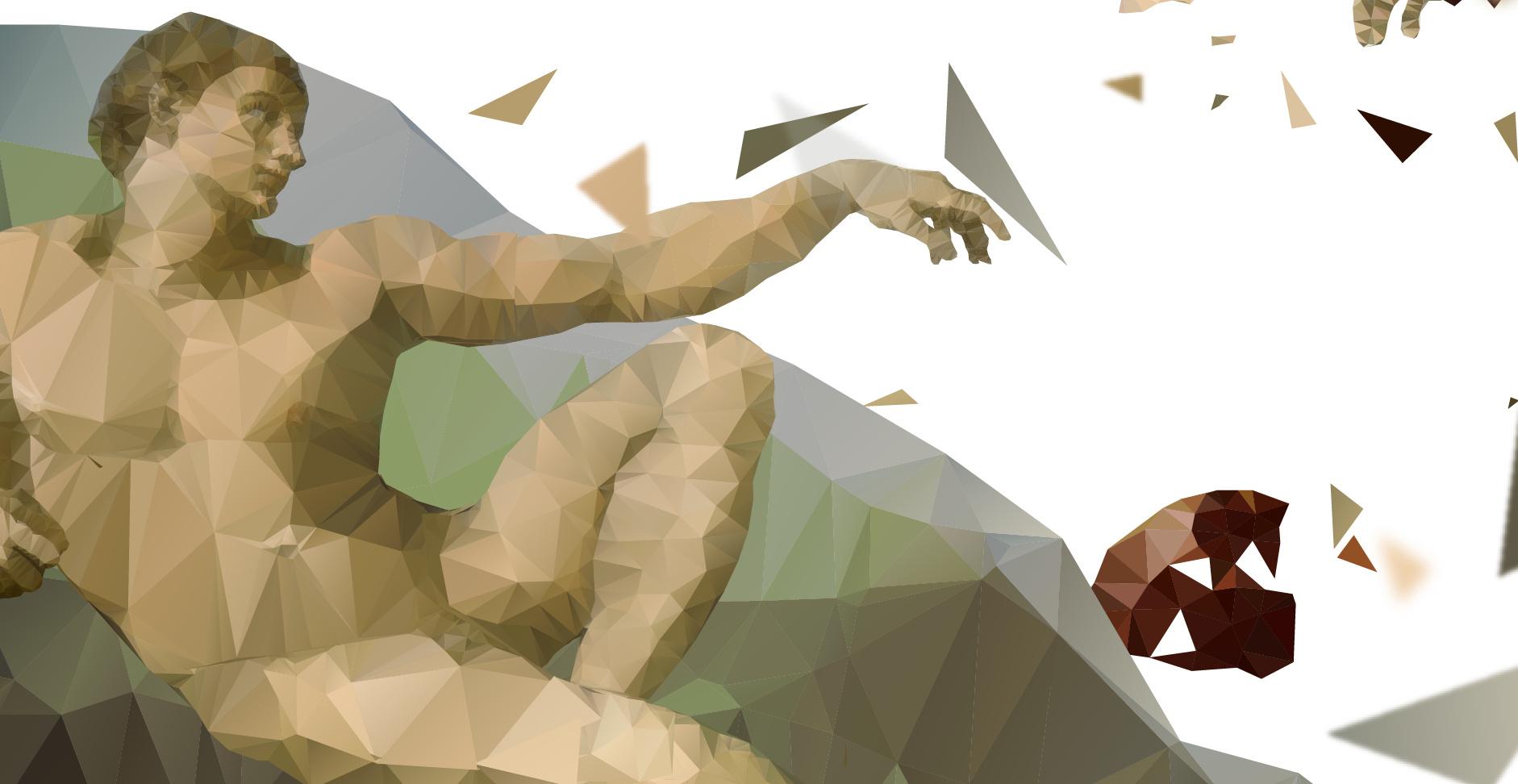 新浪_百度预测-画面意境创意稿-上帝创造亚当 平面 海报 安_Ann - 原创 ...