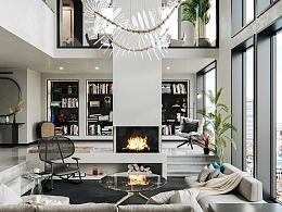 现代简约LOFT公寓——晨与夜