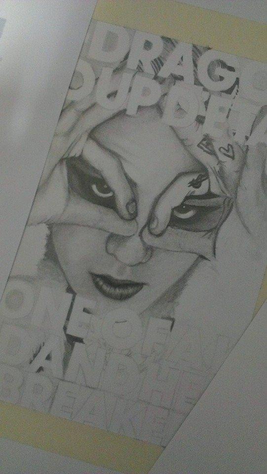 权志龙素描手绘 铅笔画 教程