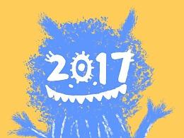 2017插画习作总结