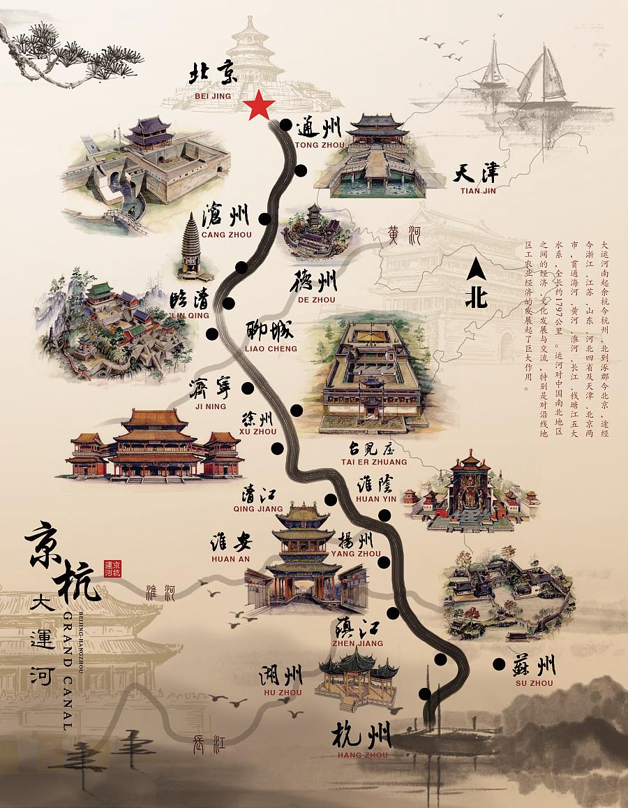 京杭大运河图片
