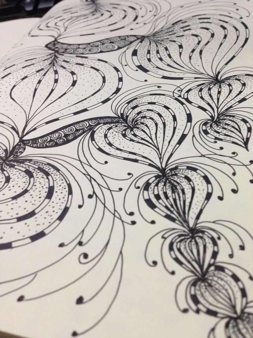 手绘插画|绘画习作|插画|细细菌菌菌