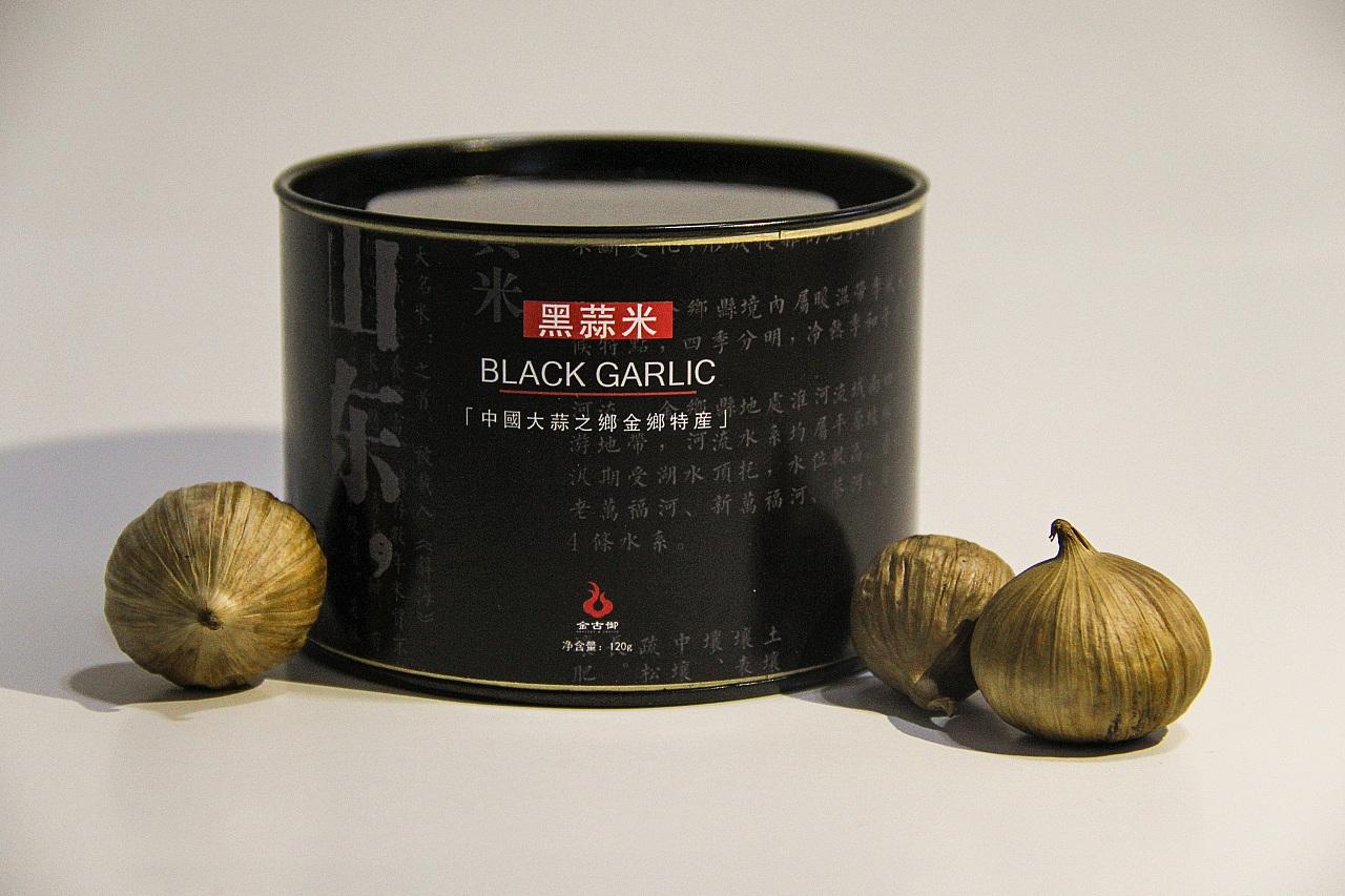 毕业设计--农产品包装(黑蒜)图片