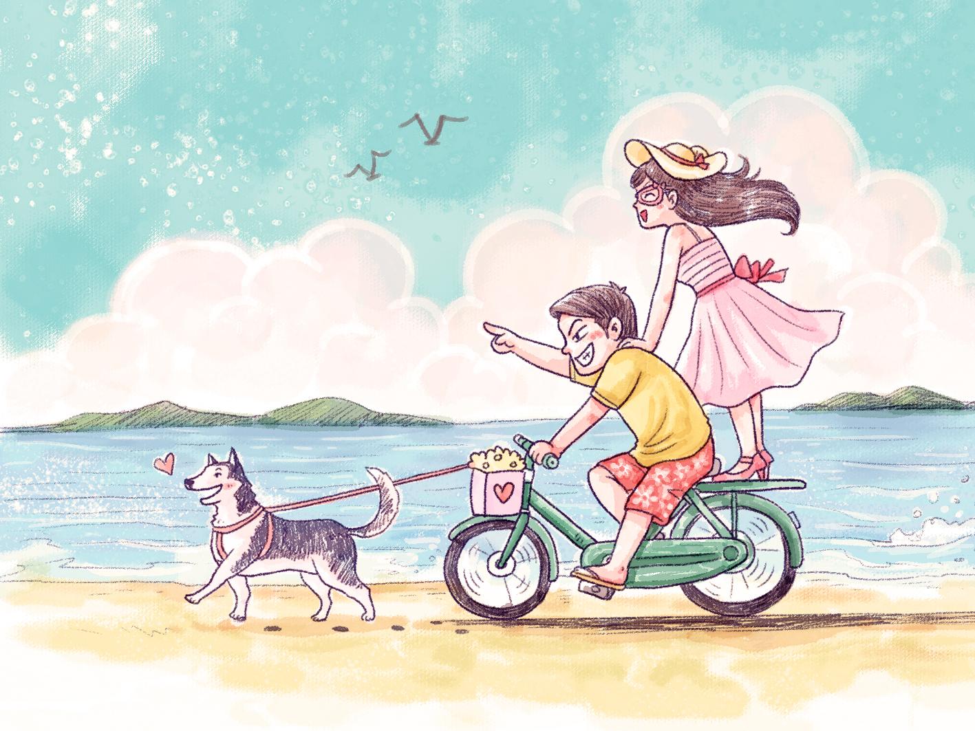 关于求婚的卡通图片