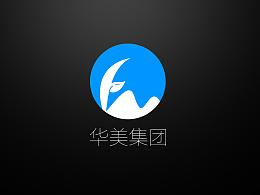 华美企业logo