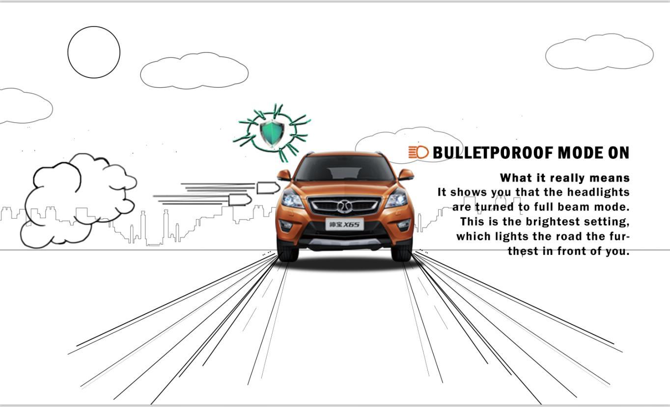 北汽汽车 x25 插画 手绘 创意 搞笑 微信 海报设计图片