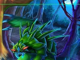 怪兽卡之:螳螂妖