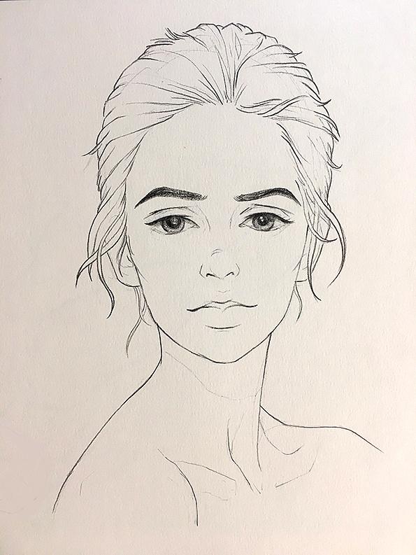 手绘 电脑|插画|插画习作|雯小 - 原创作品 - 站酷