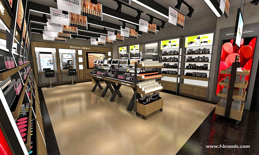 化妆品店面设计|展示/橱窗/店面设计|空间/建筑