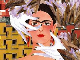 《致敬大师系列0: 弗里达·卡罗 Frida Kahlo》