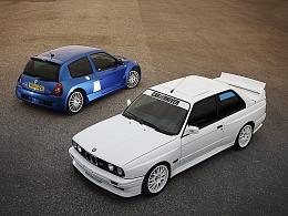 bmw e30 & Renault clio