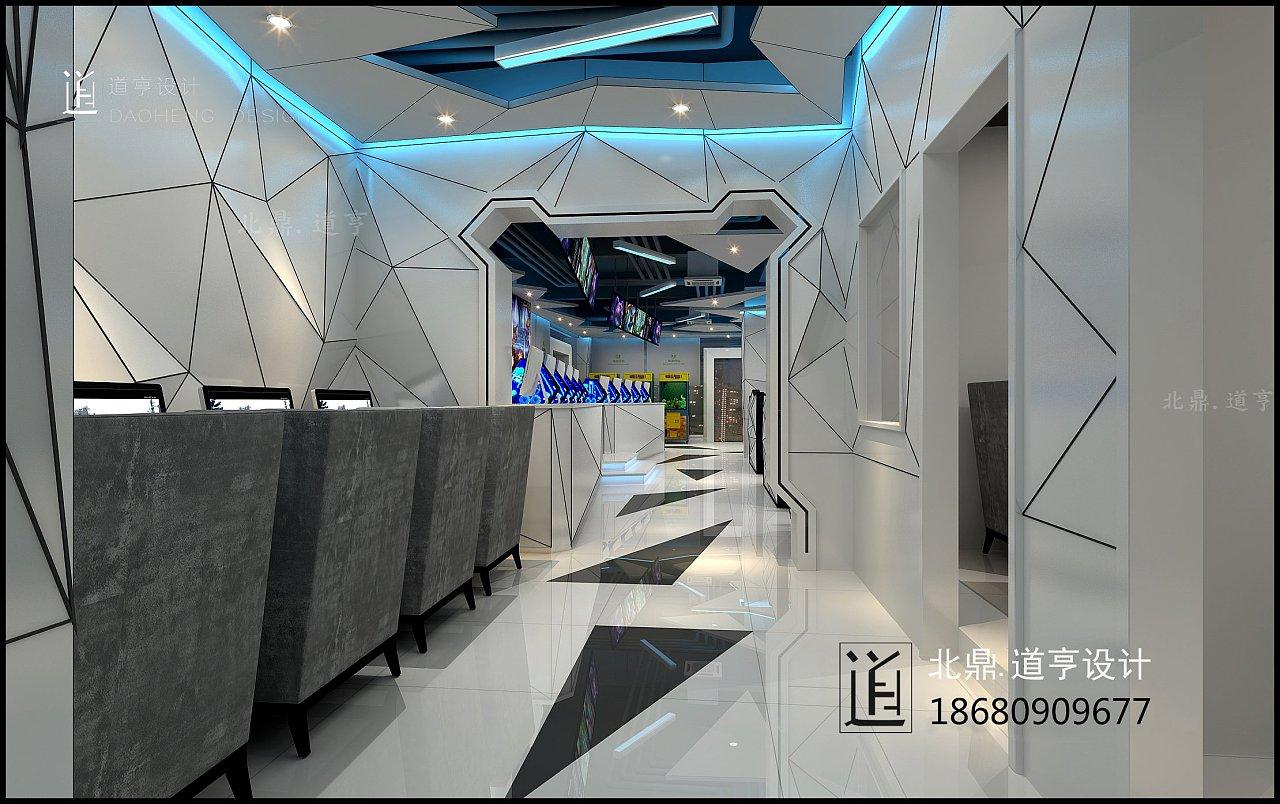 电竞馆设计手游馆设计装修重庆道亨设计公司网
