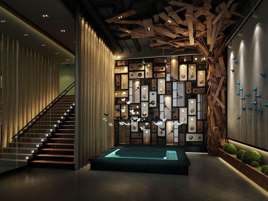 主题公司v主题吧贵州的景观设计餐厅图片