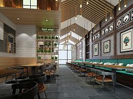酸菜鱼餐饮店
