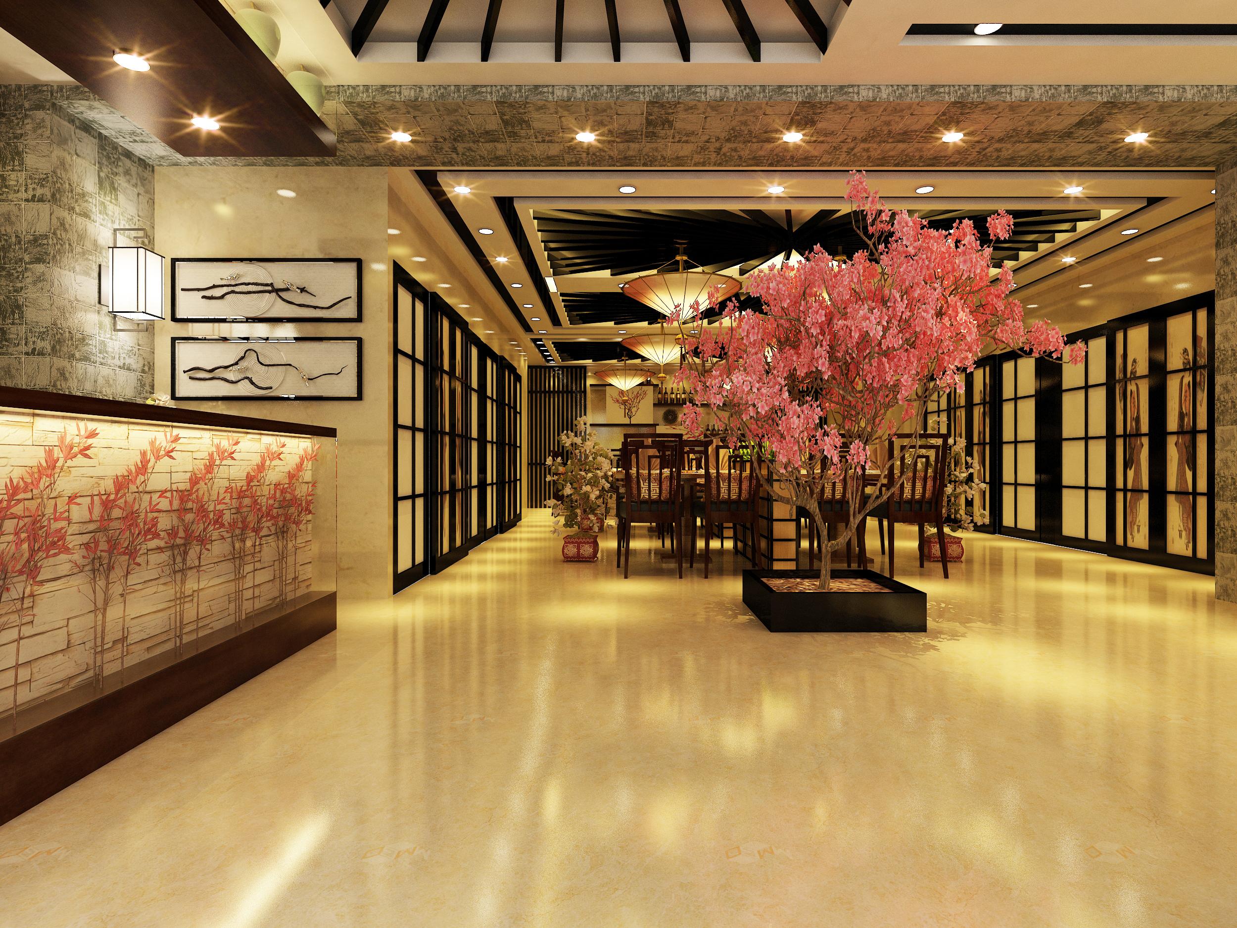 成都有特色的寿司店装修设计