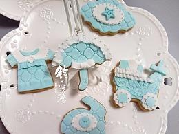 手工糖霜饼干