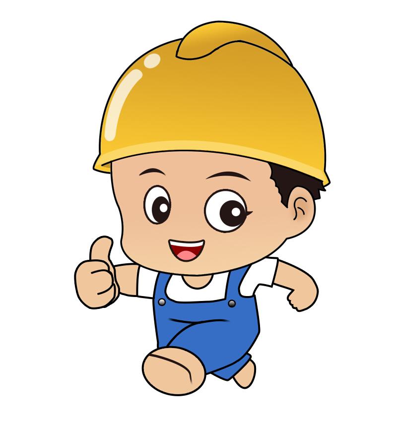 卡通人物——安装工