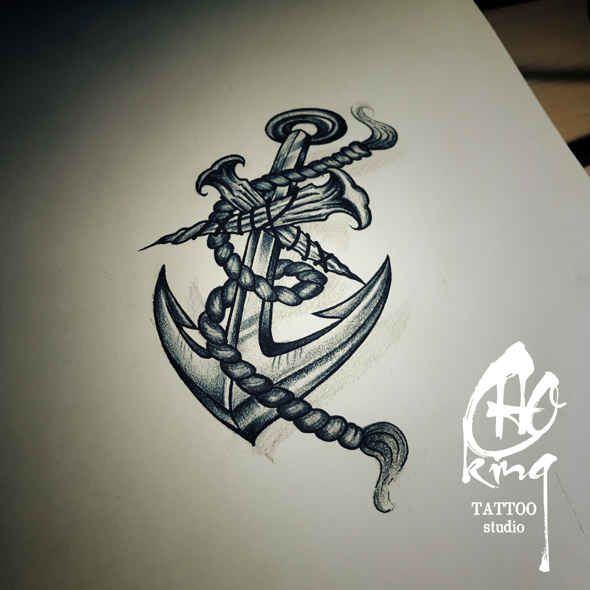 原创纹身手稿图片