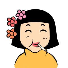 黑妹同学表情包图片