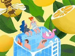 《柠檬泳池》