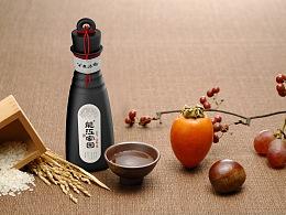 龙江家园-小酒壶白酒包装造型及画面设计