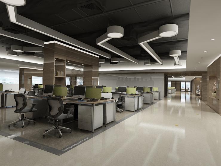 【道合设计工社】办公室装修设计企业展示 室案例viv企业注意事项图片