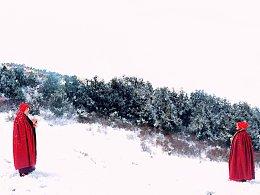 雪遇(80*60装裱包邮)