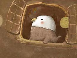 原创绘本《鸡舍里的怪宝宝》
