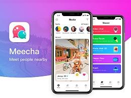Meecha UI Design