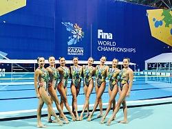 国家花样游泳队比赛服设计(2015俄罗斯喀山世锦赛)