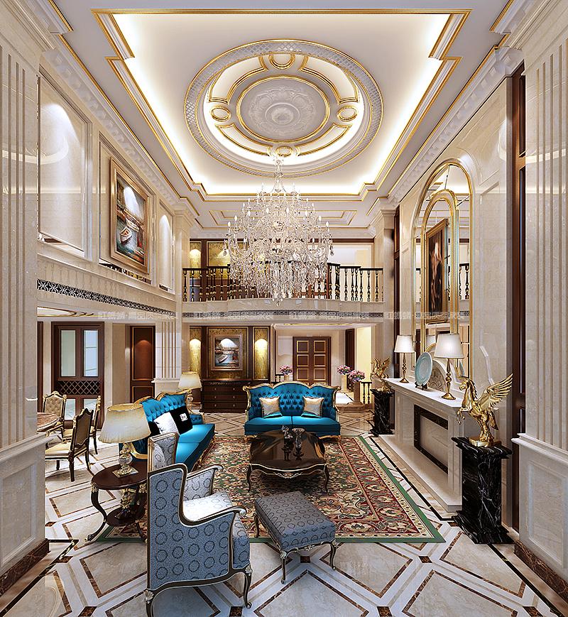 红蚂蚁装饰欧式新古典风格效果图|空间|室内设计|江苏图片