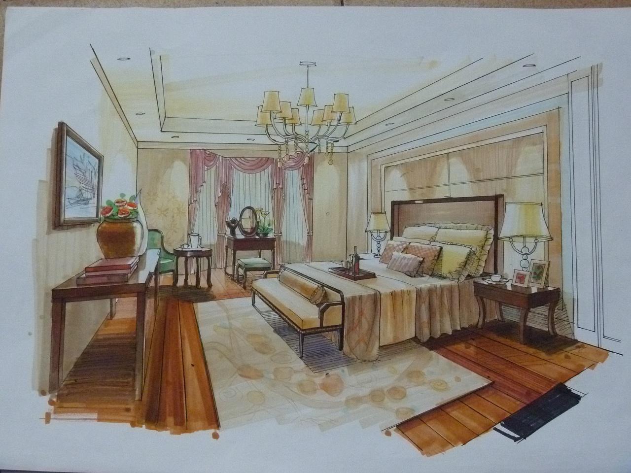 室内快题设计 - 原创作品 - 站酷(zcool)图片