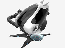 720度模拟飞行器