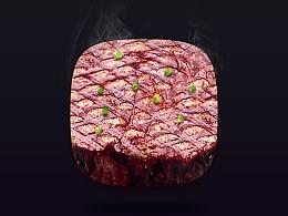 写实牛肉icons