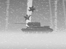 胜利日短片:奔驰的T34/85(MG)