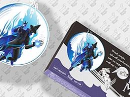 宠物药用品包装设计西安厚启品牌包装设计