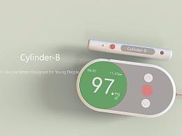 Cylinder-B  适合年轻人的血糖仪