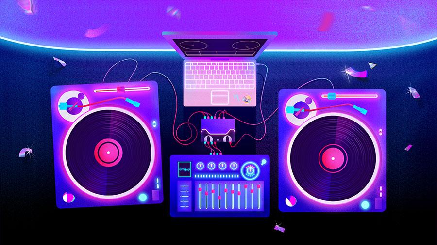 查看《天猫幻响电音节 by Infini Studio》原图,原图尺寸:900x506
