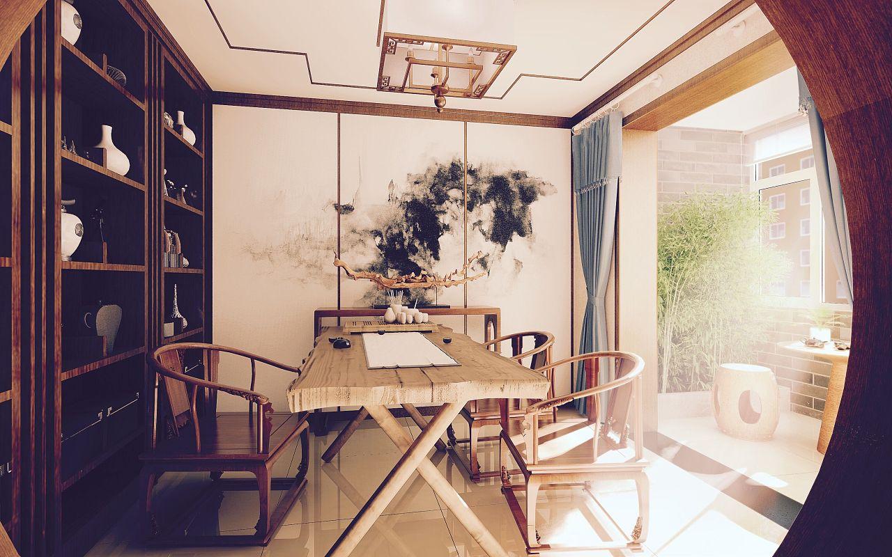 新中式室内设计--素心
